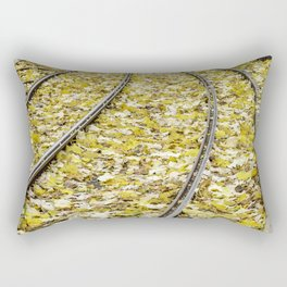 Park in the center of Turin in the autumn Rectangular Pillow