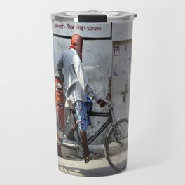 Indian rickshaw Travel Mug