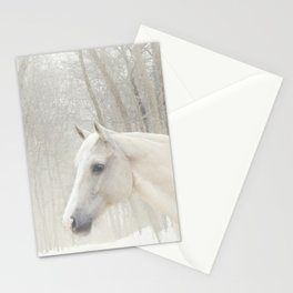 Domino in the snow Stationery Cards