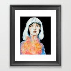 Il pianto dell'universo Framed Art Print