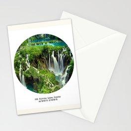 002: Plitvice Lakes, Croatia. Stationery Cards