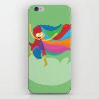 musa iPhone & iPod Skins featuring Musa by Juliana Rojas   Puchu