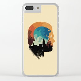 The Many Faces of Cinema: Inception Clear iPhone Case