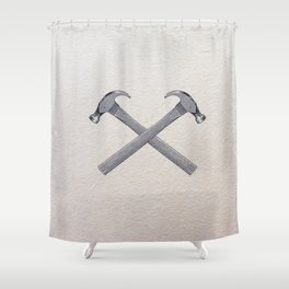 Irons Shower Curtain