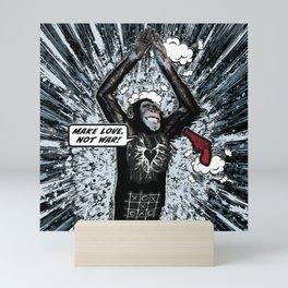 Don't Shoot (make love) Mini Art Print