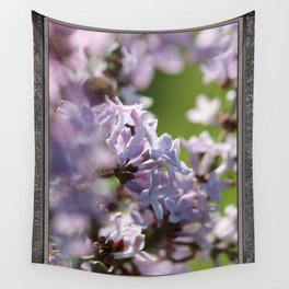 Common Purple Lilac Wall Tapestry