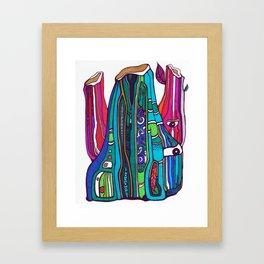 Funky Gus Framed Art Print
