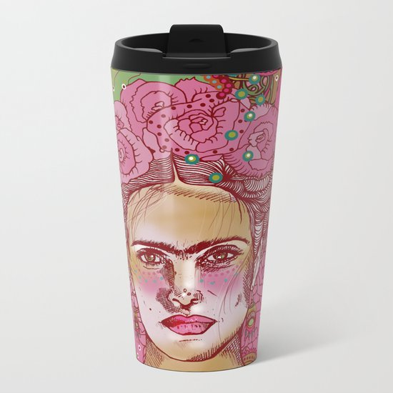 Magdalena Metal Travel Mug