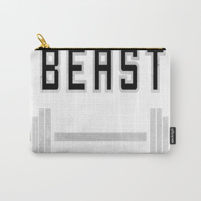 I am a beast at the gym Carry-All Pouch