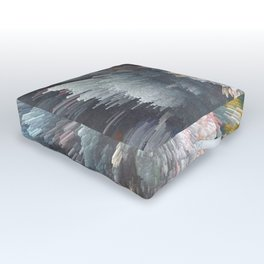 Abstract night Outdoor Floor Cushion
