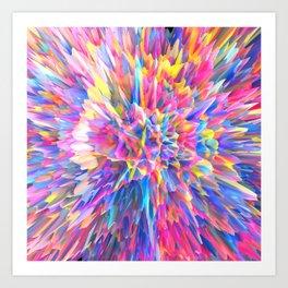 Candy Vortex Art Print