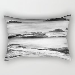 """Vela Blanca Tower"". Bw Rectangular Pillow"