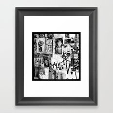 :: STREET ART //PART III - HAMBURG Framed Art Print