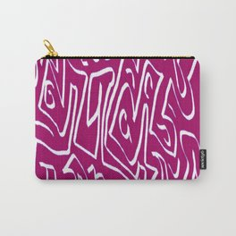 Laberinto violet white Carry-All Pouch