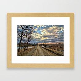 Spring Gravel Travel Framed Art Print