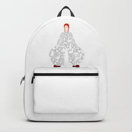 Lady Grinning Soul Backpack