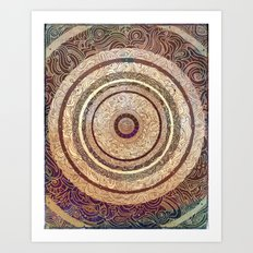 Middle of Calm Art Print