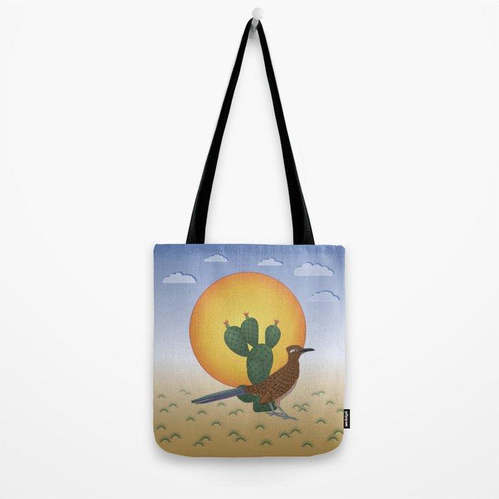 Soul of the Southwest - Roadrunner in the Desert Tote Bag