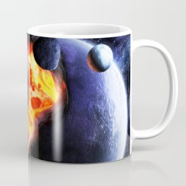 Space Tardis Coffee Mug