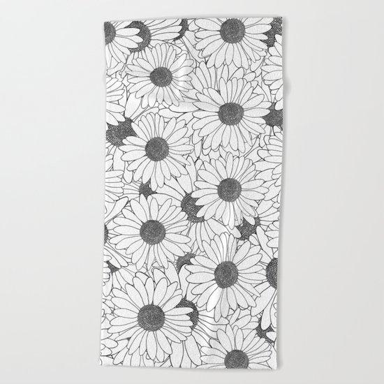 Daisies Beach Towel