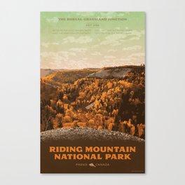 Riding Mountain National Park Canvas Print