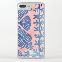Maui Square 01 Clear iPhone Case