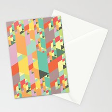 Pastel City Stationery Cards