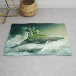 Flying kingdoms Rug