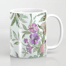mint tropical floral Coffee Mug