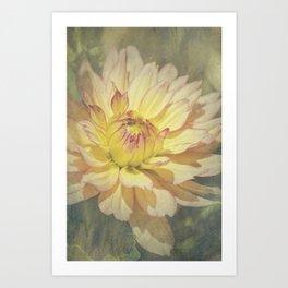 Unfolding Sun Art Print