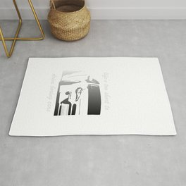 Life's Too Short To Drive Boring Cars Rug