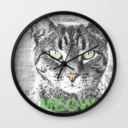 MEOW - 1 Wall Clock