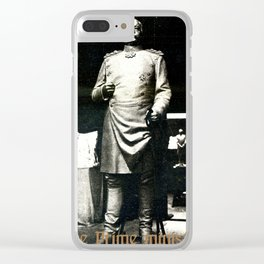 The prime minister Clear iPhone Case