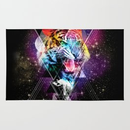 Cosmic Tiger 2 Rug