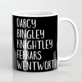 AUSTEN'S MEN (Black) Coffee Mug