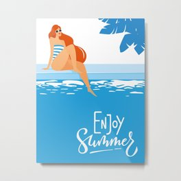 Enjoy Summer #2 Metal Print