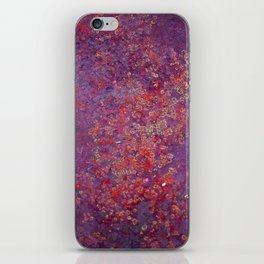 Red Moss iPhone Skin