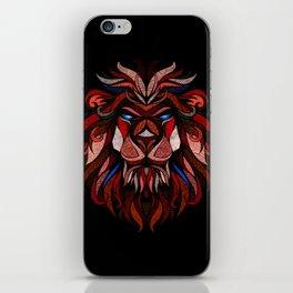 Crazy Lion XVII iPhone Skin