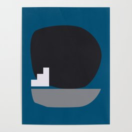 Shape study #4 - Stackable Collection Poster