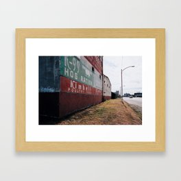 Hog Ration Framed Art Print