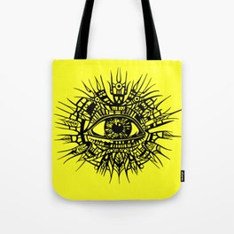 ALL-SEEING DEITY - EYE OF PROVIDENCE Tote Bag