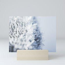 Frozen Snowflakes Mini Art Print