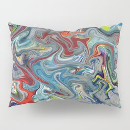 Abstract Oil Painting 11 Pillow Sham