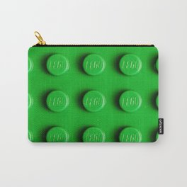 Buliding Blocks - Green Carry-All Pouch