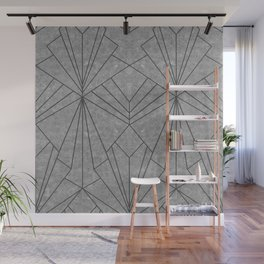Art Deco in Black & Grey - Large Scale Wall Mural