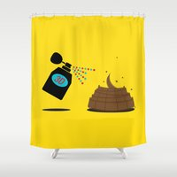 3d Shower Curtains featuring 3D by Viktor Hertz