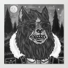 Big Bad Wolf Canvas Print
