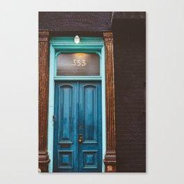 Brooklyn Door II Canvas Print
