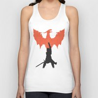 dragon age inquisition Tank Tops featuring Dragon Age: Inquisition V1 by FelixT