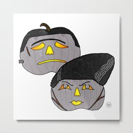 The Frankensteins Metal Print
